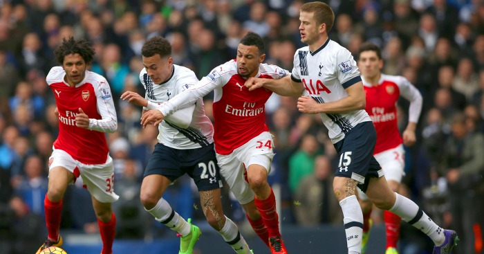 Francis Coquelin: Battles with Dele Alli and Eric Dier