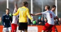 Edwin van der Sar: Congratulated after saving penalty