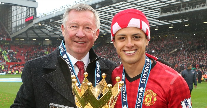 Javier Hernandez: Admiration for Ferguson