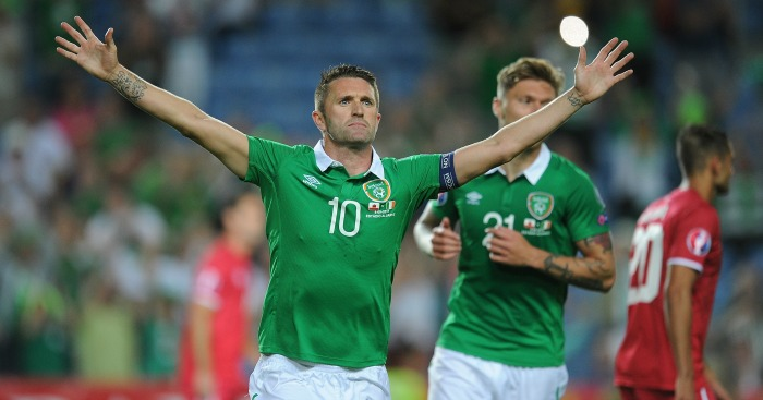 Robbie Keane: Striker currently struggling with injury
