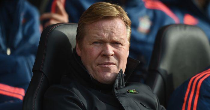 Ronald Koeman: Confirmed Charlie Austin will miss Stoke game