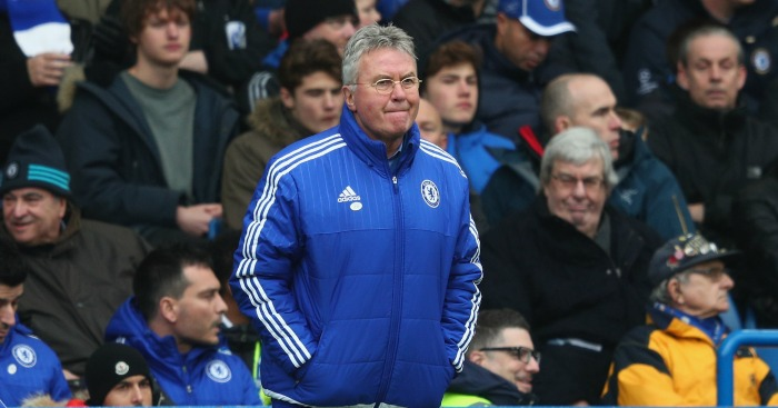 Guus Hiddink: Feels Chelsea were wrongly denied
