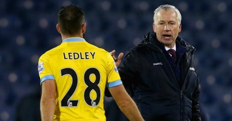 Joe Ledley: Hoping Pardew stays at Palace