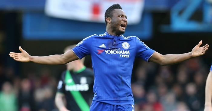 John Obi Mikel: Midfielder enjoying run in Chelsea side