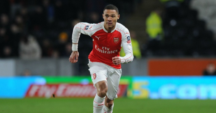 Kieran Gibbs: Defender missed chance to add to 10 caps