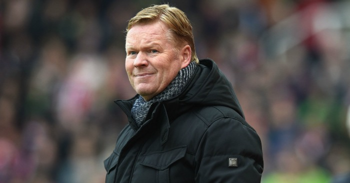 Ronald Koeman: Perfect run for Leicester