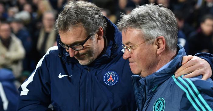Laurent Blanc: Commiserates Guus Hiddink