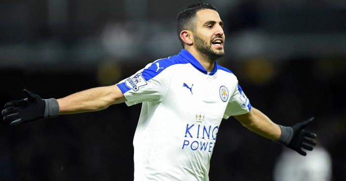 Riyad Mahrez: Been in brilliant form