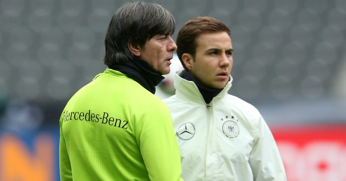 Mario Gotze: Offered advice on future by Joachim Low