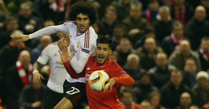 Marouane Fellaini: Defended himself