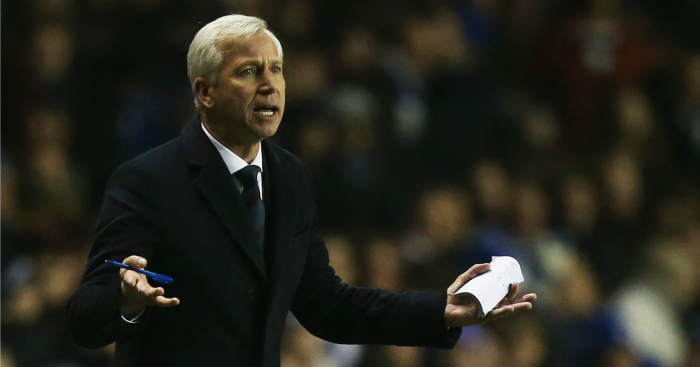 Alan Pardew: Thought it was going to be a draw