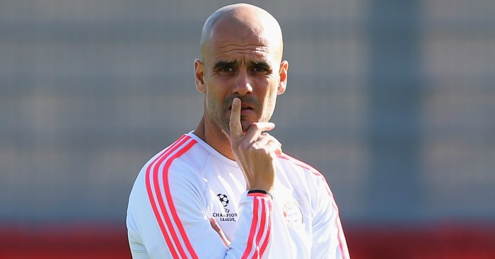 Pep Guardiola: Making plans for Manchester City