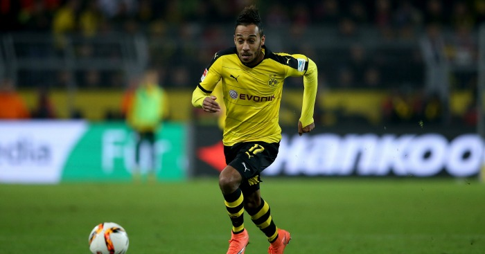 Pierre-Emerick Aubameyang: In reported talks with Man City