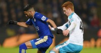 Riyad Mahrez: Went down too easily under Colback's challenge