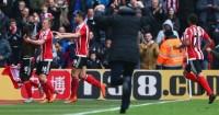 Ronald Koeman: Ran down touchline to celebrate winner against Liverpool