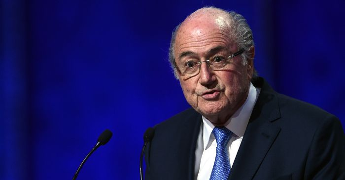 Sepp Blatter: Not happy