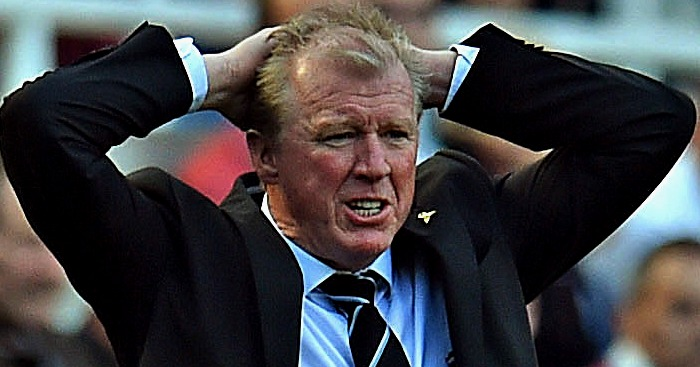 Steve McClaren: Sacked by Derby