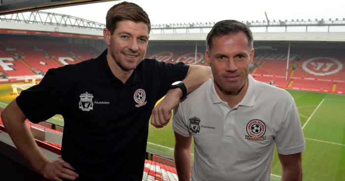 Steven Gerrard: Decision supported by Jamie Carragher