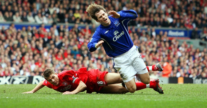 Steven Gerrard: Saw red on this day 10 years ago