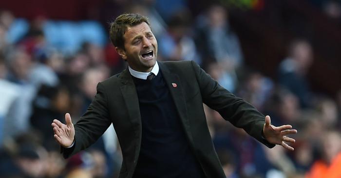 Tim Sherwood: Manager sacked in October 2015