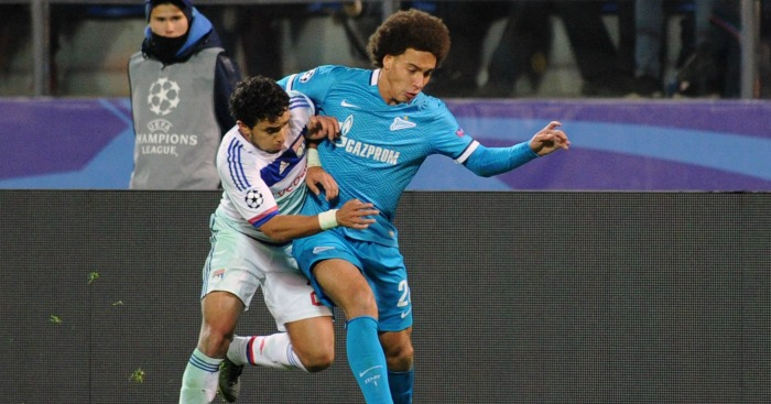 Alex Witsel: Zenit midfielder wants summer move