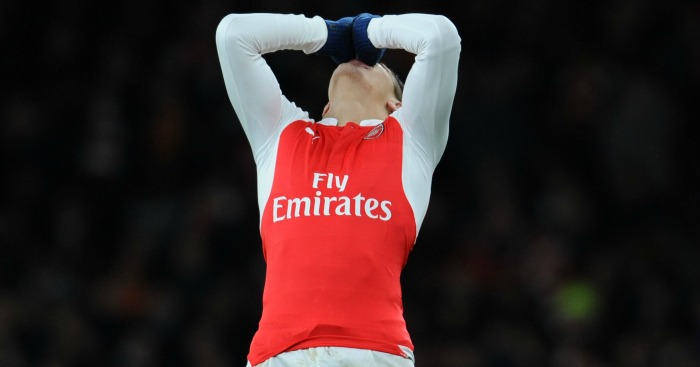 Alexis Sanchez: Sidelined again through injury