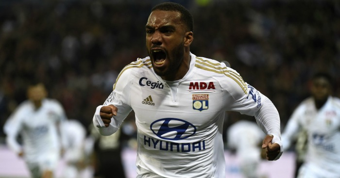 Alexandre Lacazette: Heavily linked with move to Premier League.