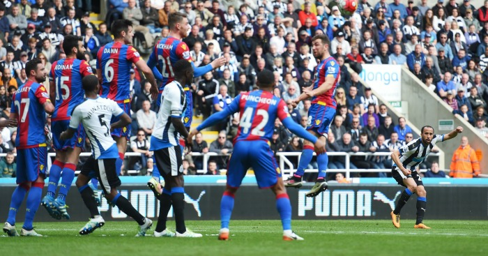 Andros Townsend: Scored from outside the box