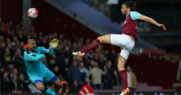 Andy Carroll: Striker opened the scoring early on