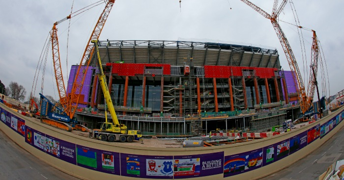 Anfield: Redevelopment work on schedule