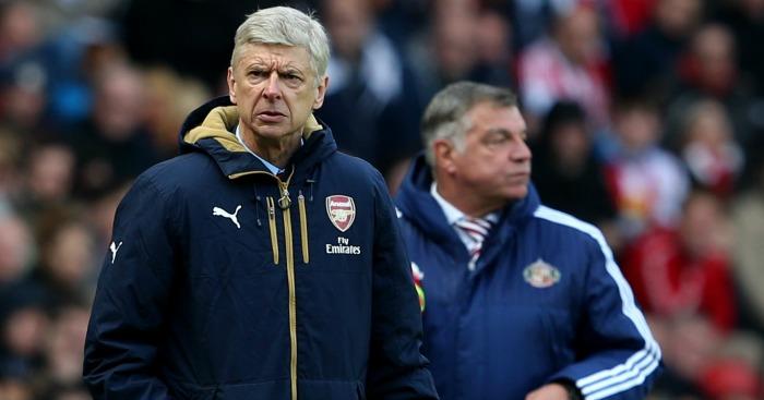Arsene Wenger: Watches on at Sunderland