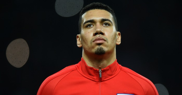 Chris Smalling: In hospital with food poisoning