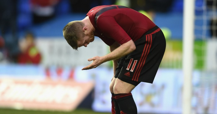 Chris Brunt: Struck by a coin after FA Cup loss to Reading