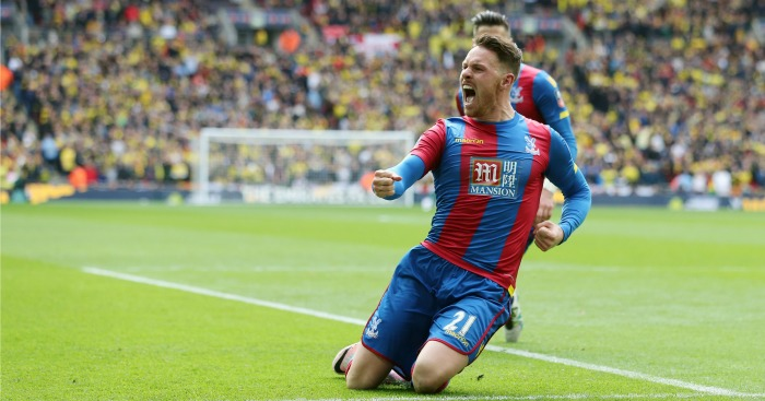 Connor Wickham: Scored Crystal Palace's winning goal against Watford
