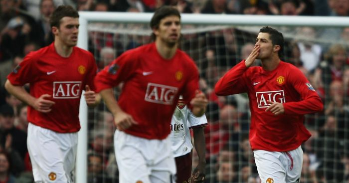 Cristiano Ronaldo Helps Red Devils Close In On Title