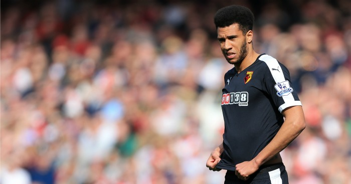Etienne Capoue: Taken off before half-time in Watford's defeat at Arsenal
