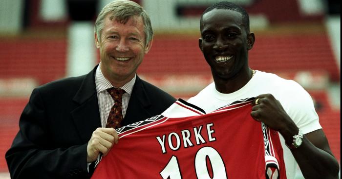 Dwight Yorke: Former striker signed by Ferguson in 1998