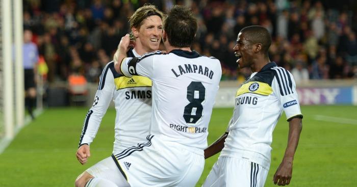 Fernando Torres: Celebrates that goal in the Nou Camp