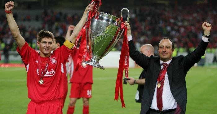 Rafa Benitez names his top 3 best ever Liverpool signings