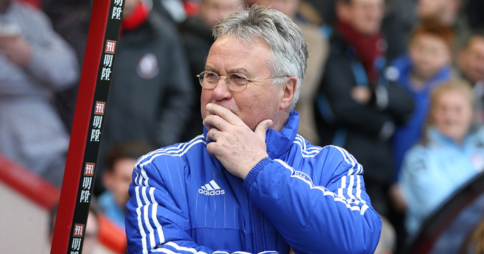Guus Hiddink: Asked to rate his time in charge of Chelsea