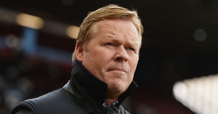 Ronald Koeman: Pondering move for United duo