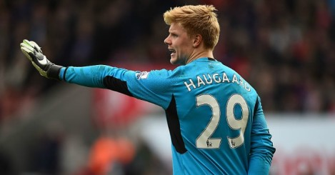 Jakob Haugaard: Will start in goal for Stoke City against Sunderland