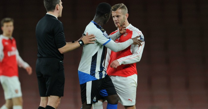 Jack Wilshere: Midfielder clashed with Henri Saivet
