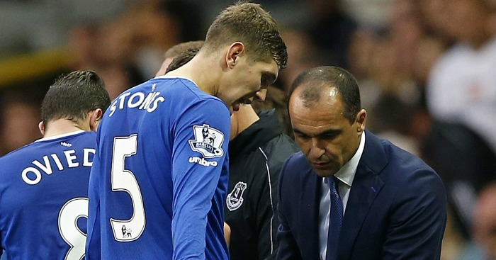 John Stones: Left out at Everton by Martinez
