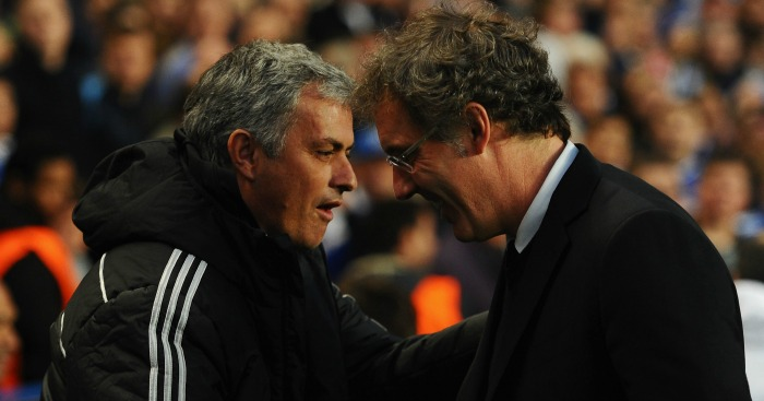 Jose Mourinho & Laurent Blanc: Two main contenders at United