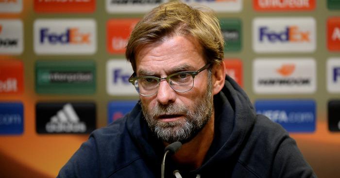 Jurgen Klopp: Trust in his players