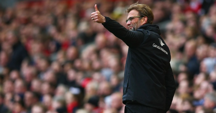 Jurgen Klopp: Manager made seven changes to side