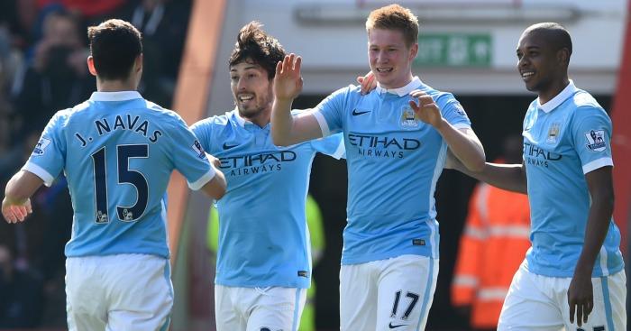 Kevin De Bruyne: Enjoys his goal for City at Dean Court