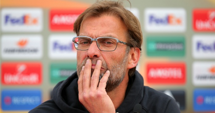 Jurgen Klopp: Preparing side for Hull clash