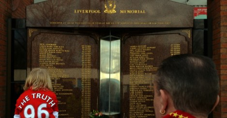 Liverpool memorial at Anfield
